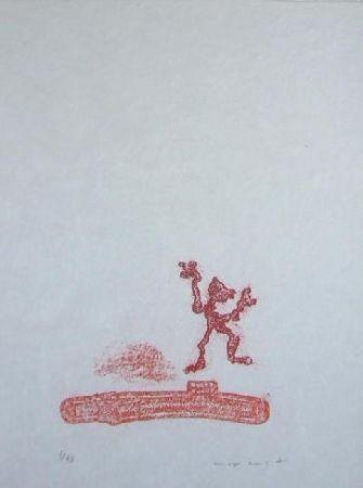 リトグラフ Ernst - Lewis Carroll's Wunderhorn 36