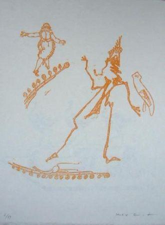 リトグラフ Ernst - Lewis Carroll's Wunderland 15