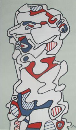 リトグラフ Dubuffet - L'Homme