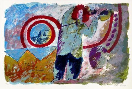 リトグラフ Tobiasse - L'HOMME A LA CRUCHE
