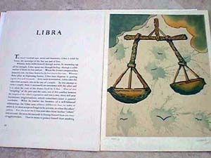 リトグラフ Dali - Libra From