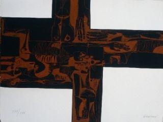彫版 Guayasamin - Lidice 2 variante