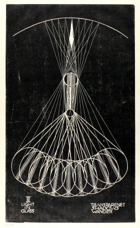 リノリウム彫版 Klien,  - Light in Glass III