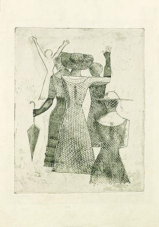 彫版 Campigli - L'incontro