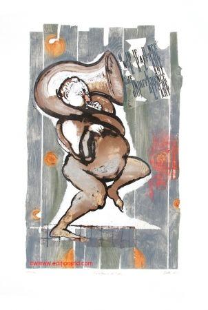 木版 Botti  - L'indifférence de l'art