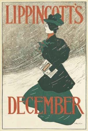 リトグラフ Gould - Lippincott's December