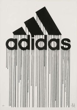 シルクスクリーン Zevs - Liquidated Adidas