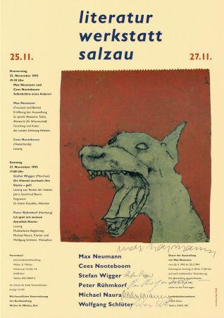 掲示 Neumann - Literatur Werkstatt Salzau