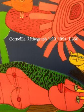 リトグラフ Corneille - Lithograph 7/200