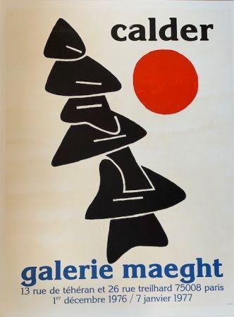 リトグラフ Calder - Lithographic poster