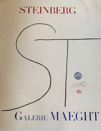 リトグラフ Steinberg - Lithographic poster