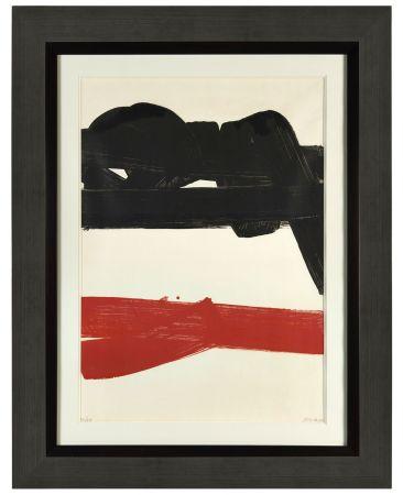リトグラフ Soulages - Lithographie 27 - 1969