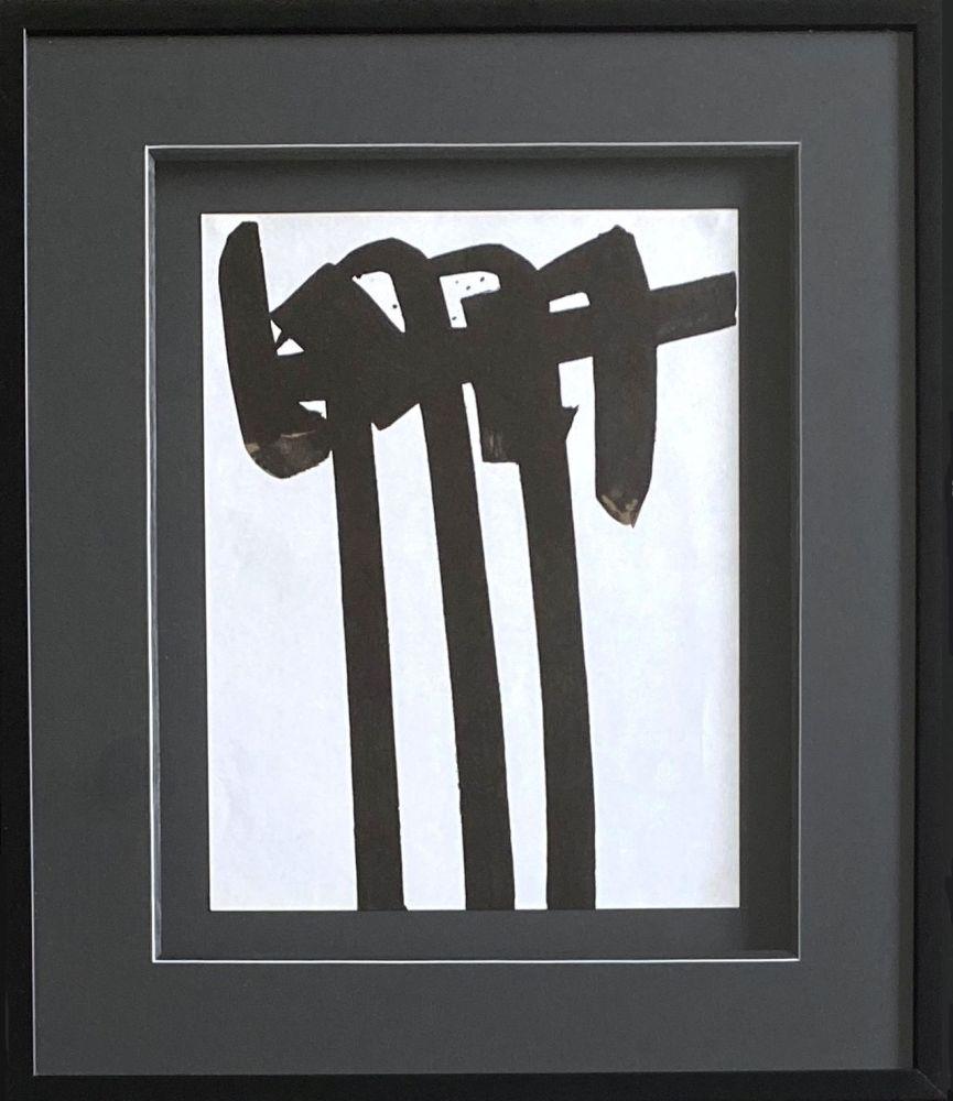 リトグラフ Soulages - Lithographie 28