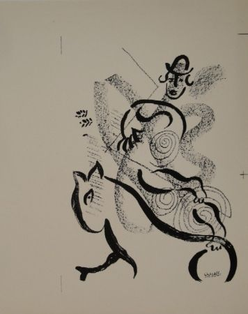 リトグラフ Chagall - Lithographie für