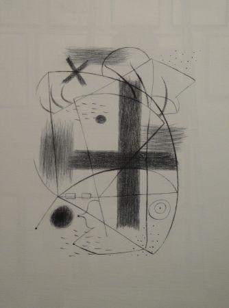 リトグラフ Miró - Lithographie II