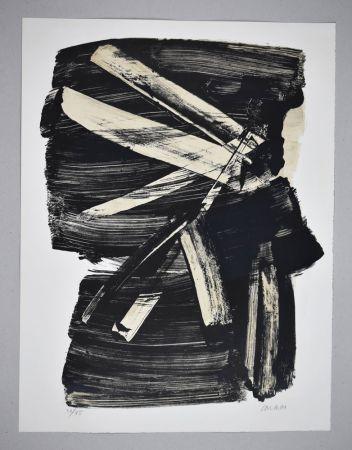 リトグラフ Soulages - Lithographie n°10