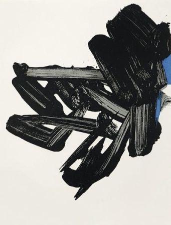 リトグラフ Soulages - Lithographie n°17