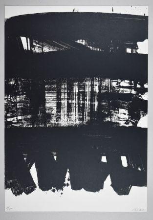 リトグラフ Soulages - Lithographie n°21