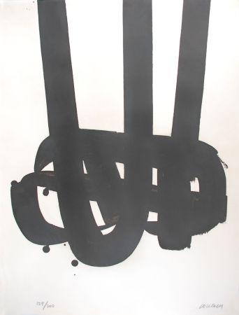 リトグラフ Soulages - Lithographie n°29