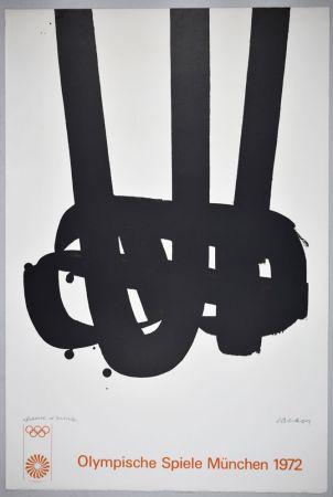 リトグラフ Soulages - Lithographie n°29 JO