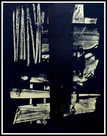 技術的なありません Soulages - Lithographie N°9