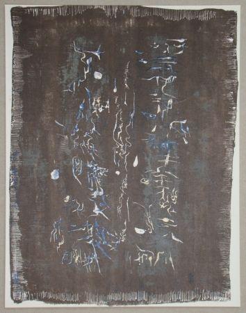 リトグラフ Zao - Lithographie Originale Pour Xxe Siècle