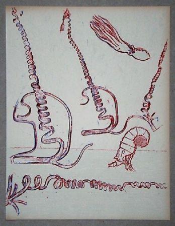 リトグラフ Ernst - Lithographie Originale Pour Xxe Siècle