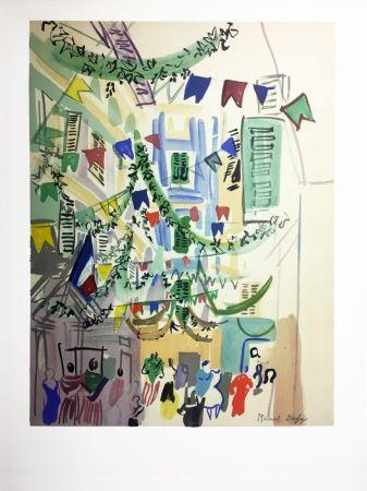 リトグラフ Dufy - LITHOGRAPHIE POUR LE