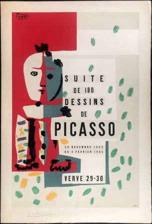 リトグラフ Picasso - LITHOGRAPHIE: SUITE DE 180 DESSINS. VALLAURIS VERVE 29-30. 1953-1954