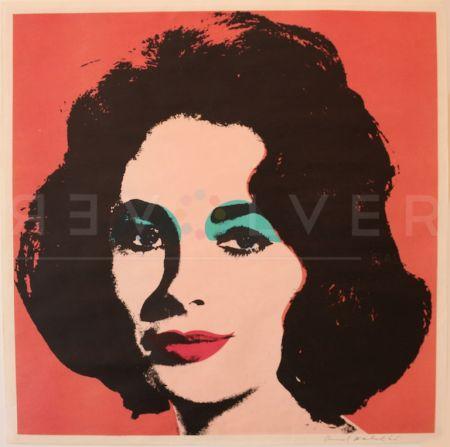 シルクスクリーン Warhol - Liz (Fs Ii.7)