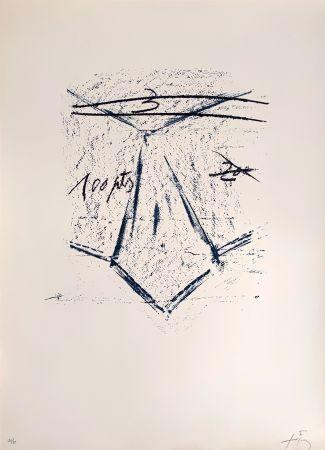 リトグラフ Tàpies - Llambrec 12