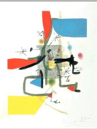 エッチングと アクチアント Miró - Llibre Dels Sis Sentits I