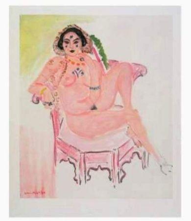 リトグラフ Matisse - L'odalisque Assise