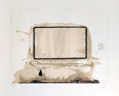 彫版 Tàpies - L'oeil