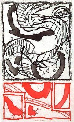 彫版 Alechinsky - Logique Propre