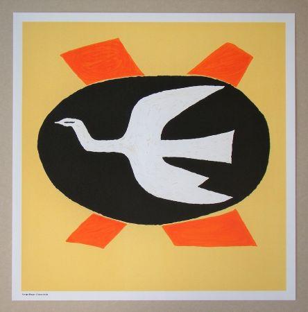 リトグラフ Braque (After) - L'oiseau de feu, 1958