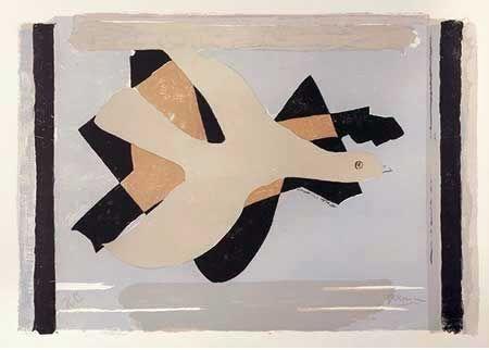 リトグラフ Braque - L'oiseau Est Son Nombre