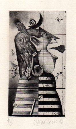 挿絵入り本 Assadour - L'oiseleuse. L'uccellatrice