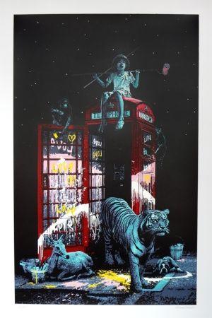 シルクスクリーン Roamcouch - London calling
