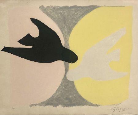 エッチングと アクチアント Braque - L'ordre des oiseaux