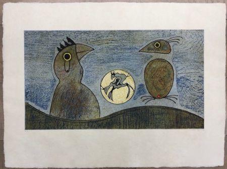 エッチング Ernst - Los Pájaros