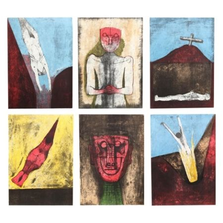 リトグラフ Tamayo - Los Signos Existen