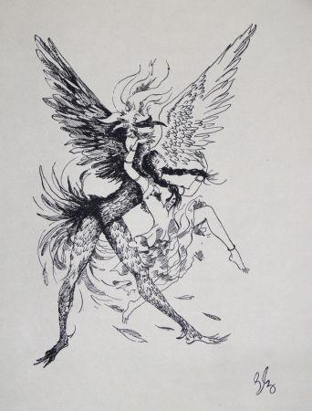 彫版 Bonabel - Louis-Ferdinand Céline - Gravure Originale
