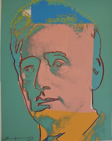 シルクスクリーン Warhol - Louis Brandeis (FS II.230) Trial Proof