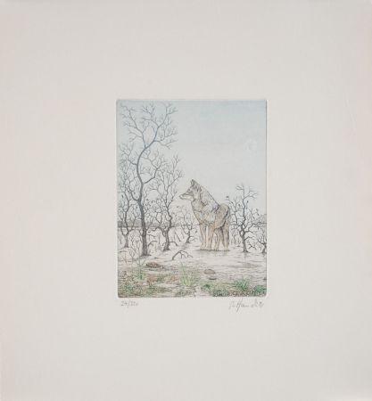 エッチング Hauck - Loup - Wolf
