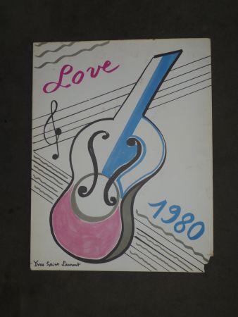 掲示 Saint Laurent - Love  1980