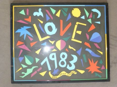 掲示 Saint Laurent - Love 1983