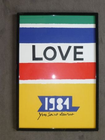 掲示 Saint Laurent - Love 1984