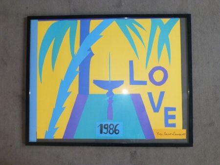 掲示 Saint Laurent - Love 1986