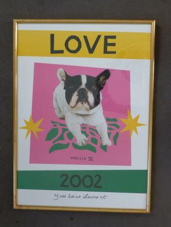 掲示 Saint Laurent - Love 2002
